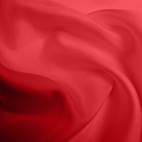 Silk Twill Medium - Poppy (Dyed To Order)