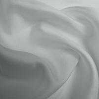 Silk Twill Medium - Titanium Silver (Dyed To Order)