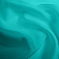 Silk Twill Medium - Turquoise (Dyed To Order)