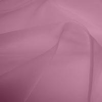 Silk Organza – Vintage Rose (Dyed To Order)