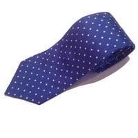 Royal Blue Polka Dot Tie