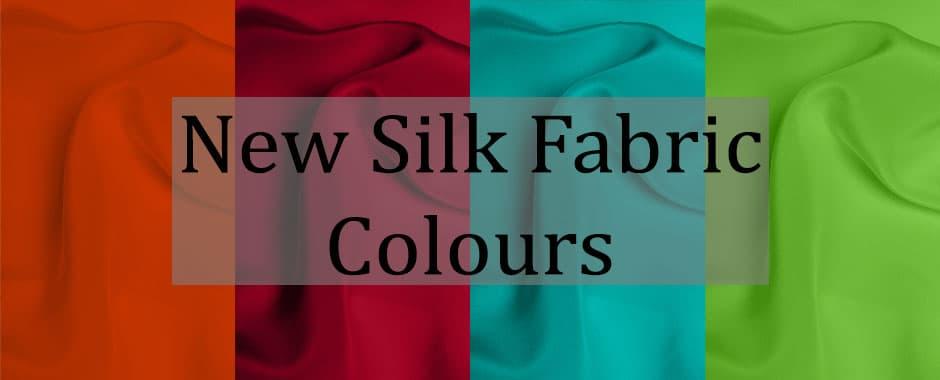 New Silk Fabrics