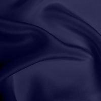 Crepe de Chine Heavy - French Navy
