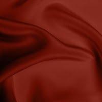 Crepe de Chine Heavy - Brick Red