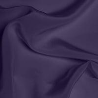 Crepe de Chine Medium - Dusky Purple
