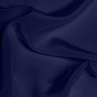 Crepe de Chine - French Navy