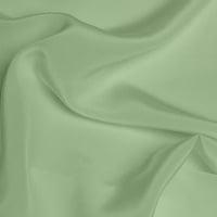 Crepe de Chine Medium - Mint Green