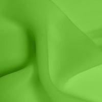 Double Georgette - Apple Green