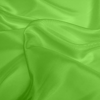 Dupion - Apple Green