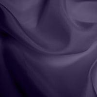 Silk Habotai - Dusky Purple