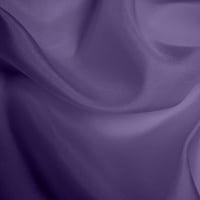 Silk Habotai - Blue Purple