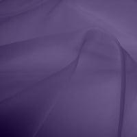 Silk Organza - Blue Purple