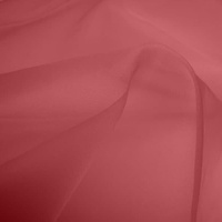 Silk Organza - Deep Pink