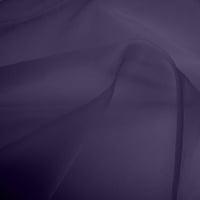 Silk Organza - Dusky Purple