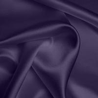 Heavy Satin - Dusky Purple