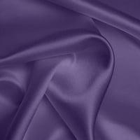 Heavy Satin - Blue Purple