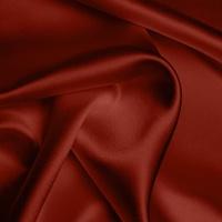 Heavy Satin - Brick Red