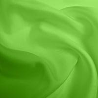 Silk Twill Medium -Apple Green