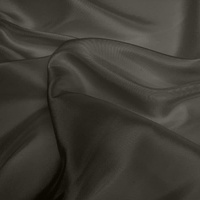 Silk Dupion - Smokey Grey