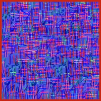 Brush Strokes - Red and Blue
