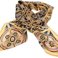 High Altar Mosaic Silk Scarf