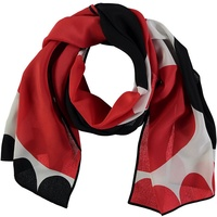 Terry Frost Red and Black Silk Scarf